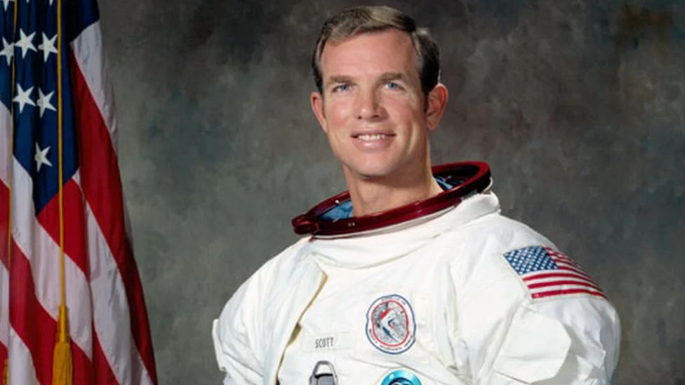 Astronaut David Scott