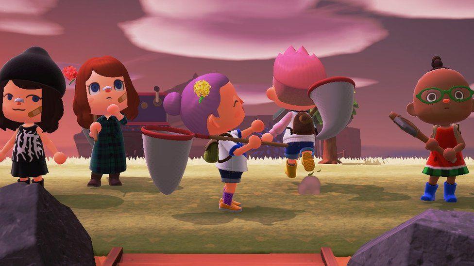 Screen shot of Animal Crossing