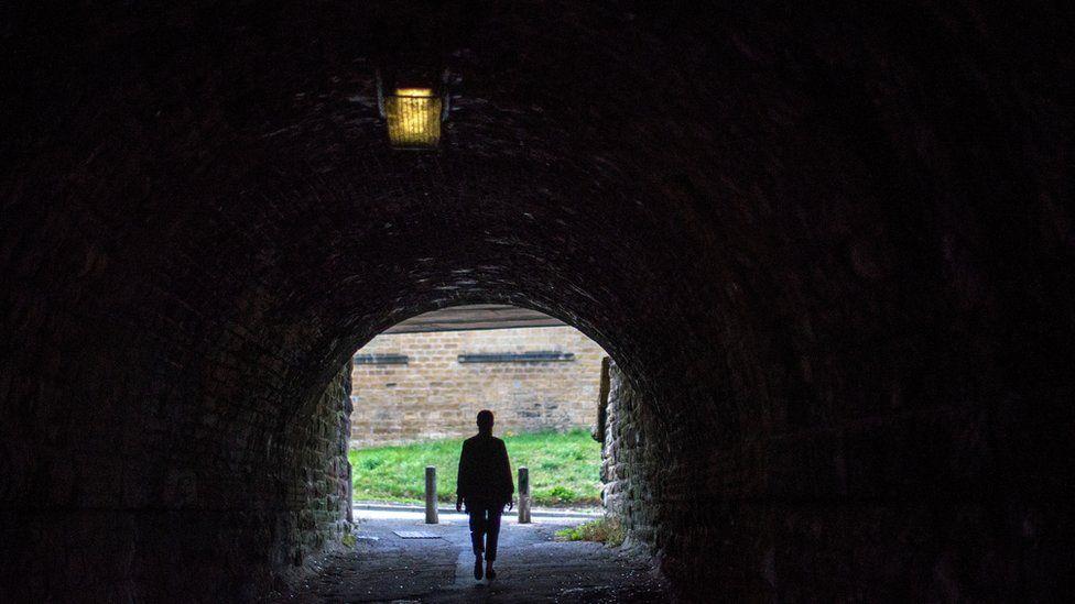 Alley in Huddersfield