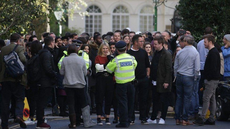 People evacuated