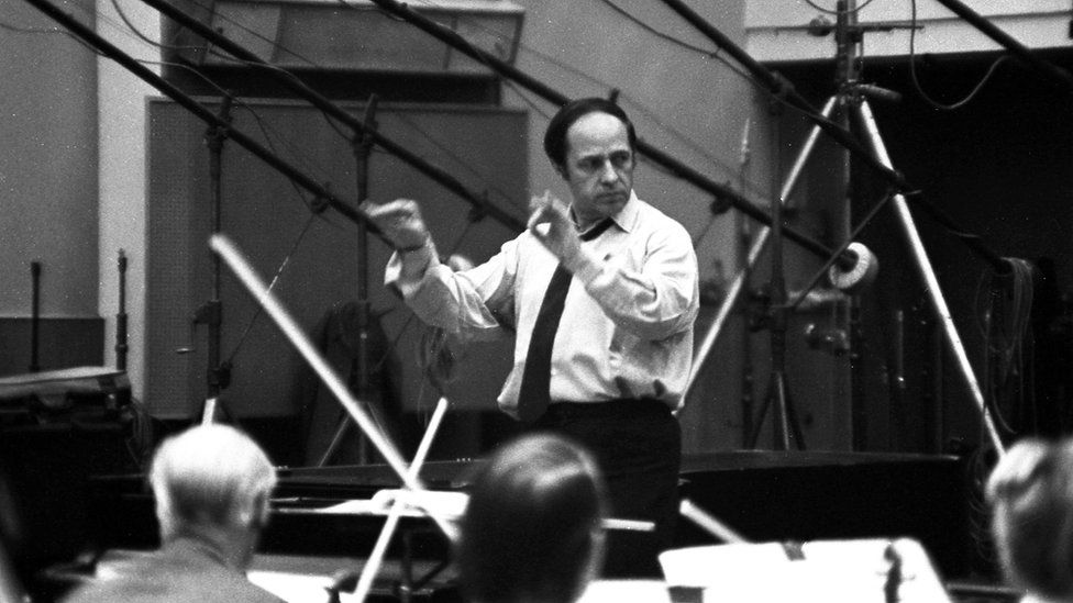 Pierre Boulez with the BBC Symphony Orchestra
