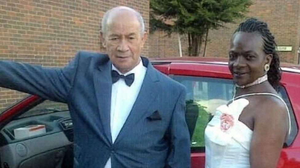 Alison Ebanks' parents