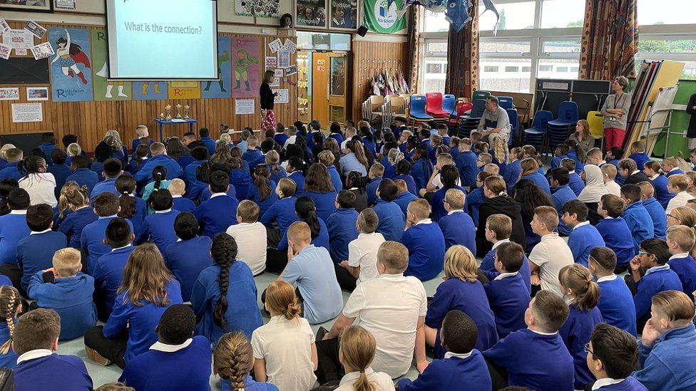 Assembly at Stokes Wood Primary
