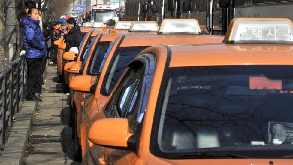 Taxis in Seoul