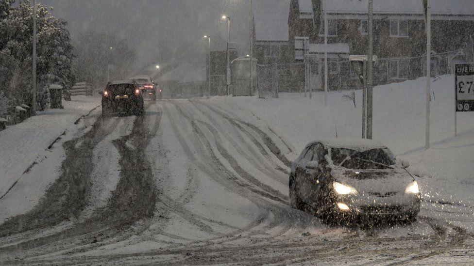 Snow in Carluke