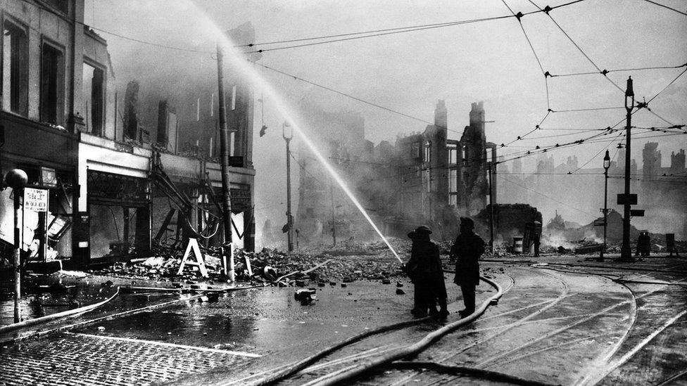 May 41 Blitz Liverpool