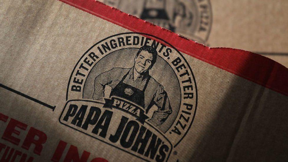 Papa John's box