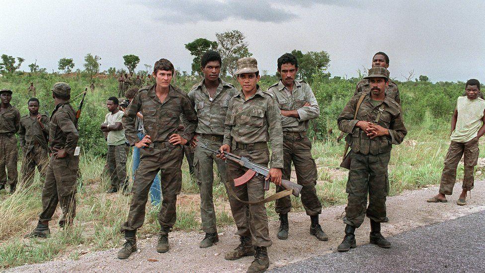Cuban forces during Angolan civil war