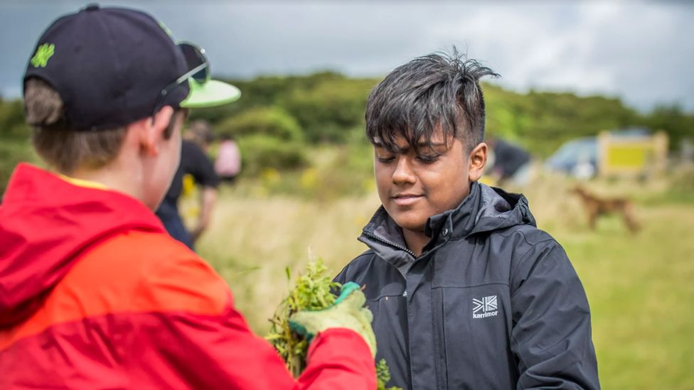 Young people in Action for Conservation