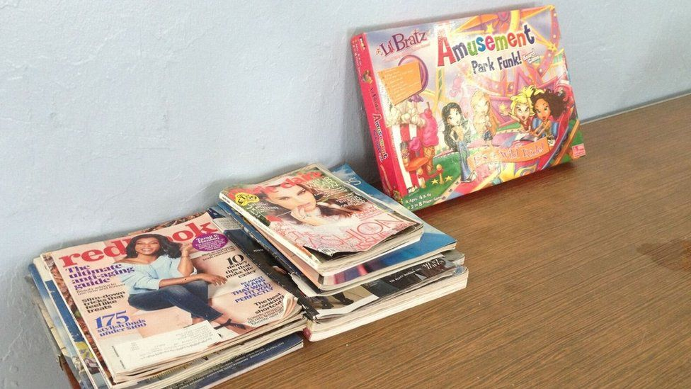 Magazines in the occupational therapy centre