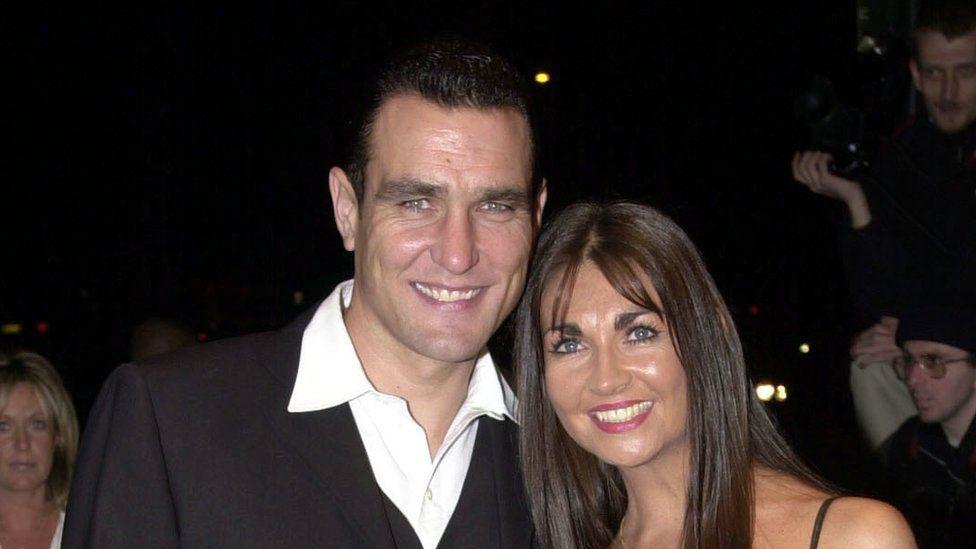 Vinnie Jones and late wife Tanya