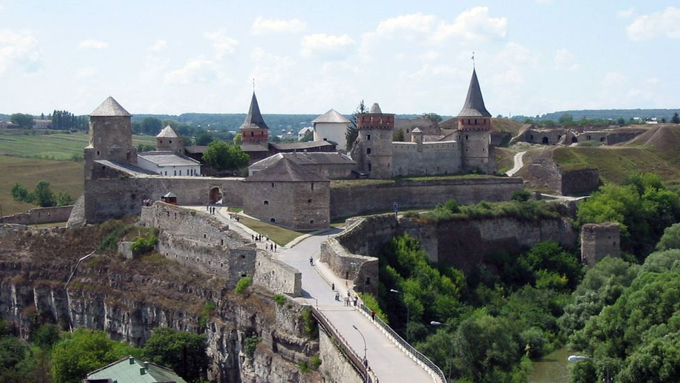 The old fortress, Kamianets-Podilskyi