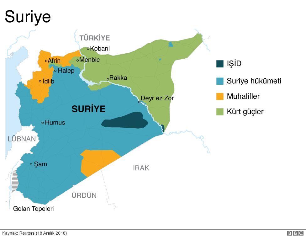 Orta Dogu Yu 2019 Da Ne Bekliyor Bbc News Turkce