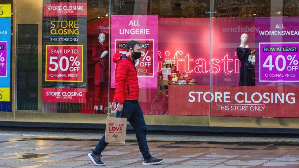 Debenhams store closure