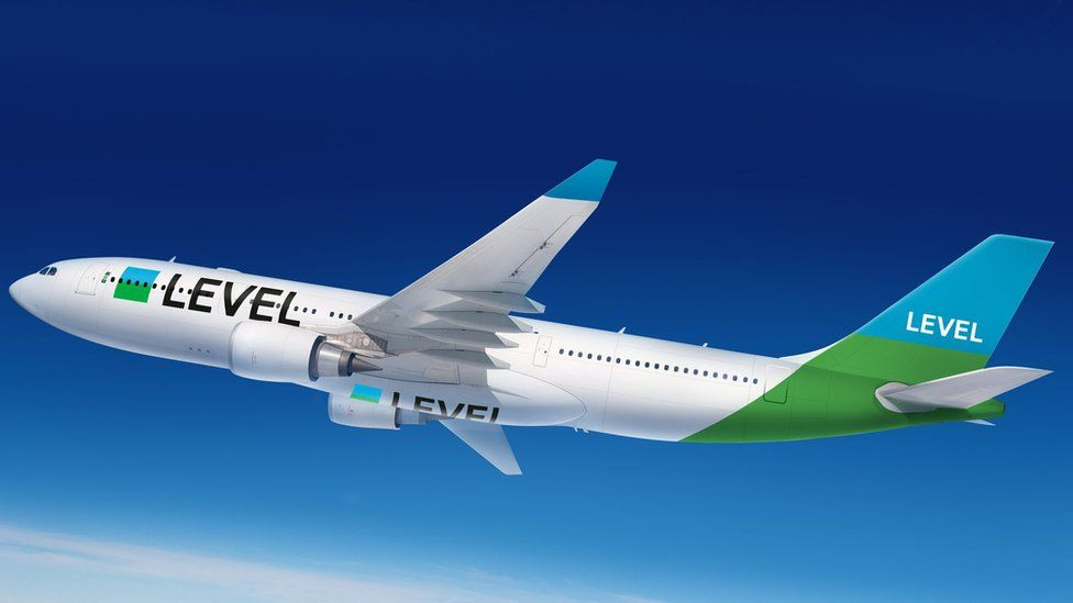 A330 in colours of low-cost carrier, Level