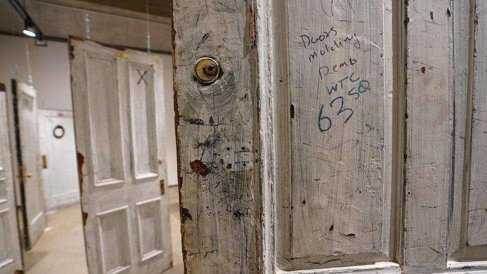 Door to a room used by Humphrey Bogart