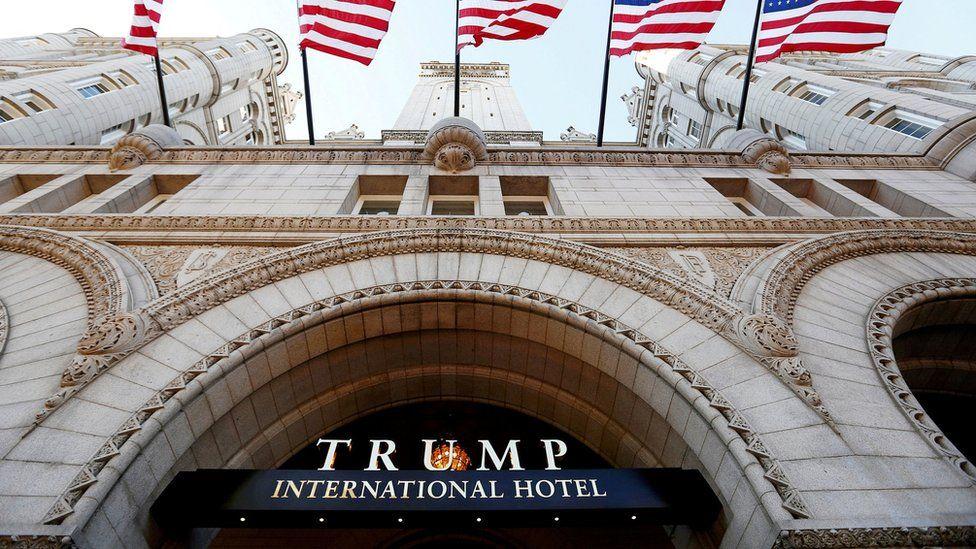 Khách sạn Trump International ở Washington DC được nhắm đến cho các nhà ngoại giao nước ngoài