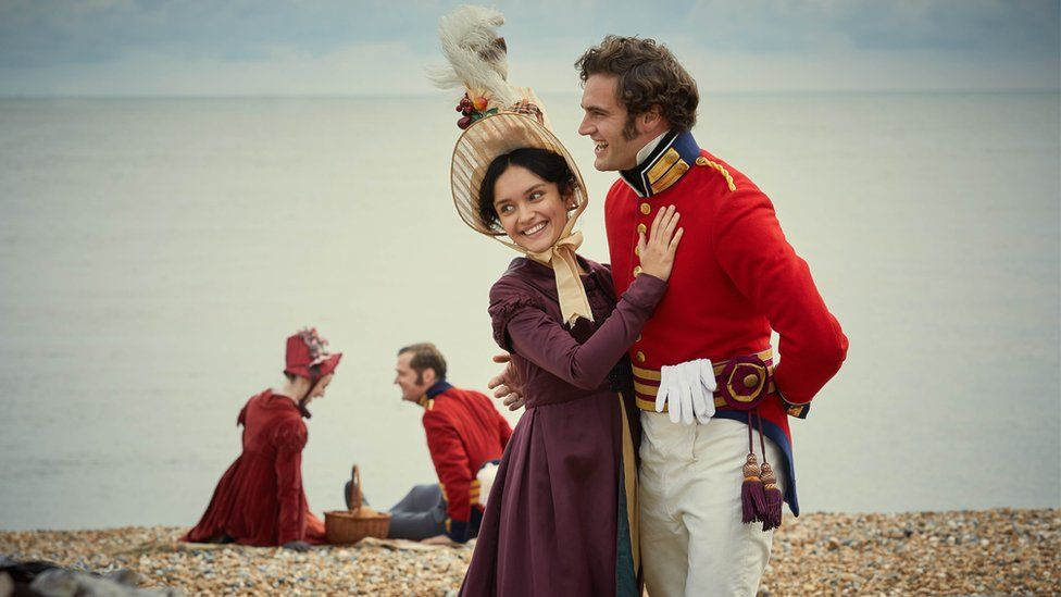 Olivia Cooke and Tom Bateman in Vanity Fair