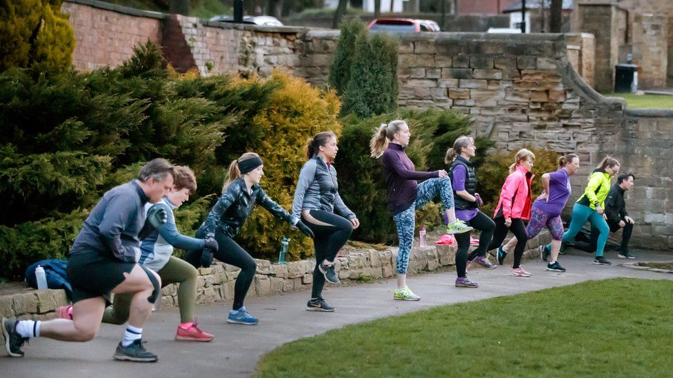 A boot camp in Leeds