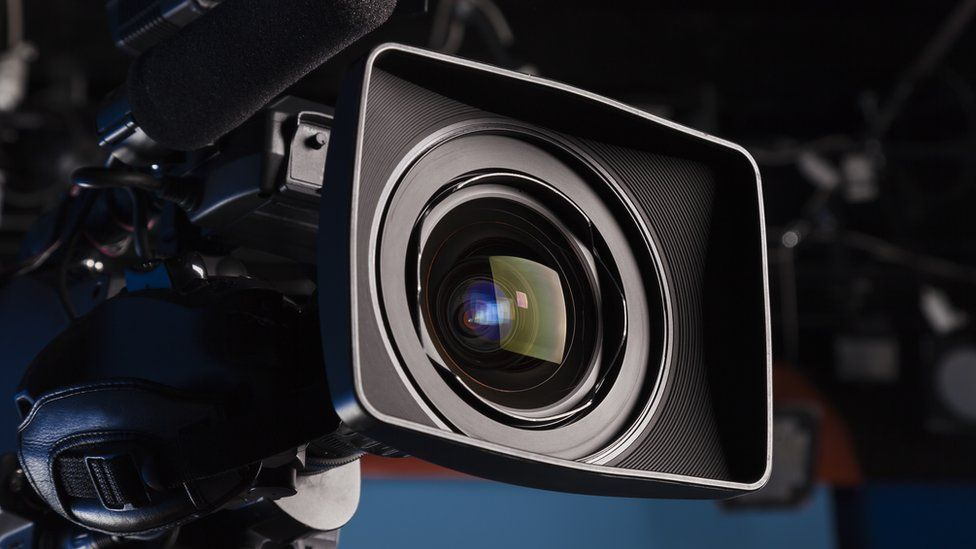 A TV camera