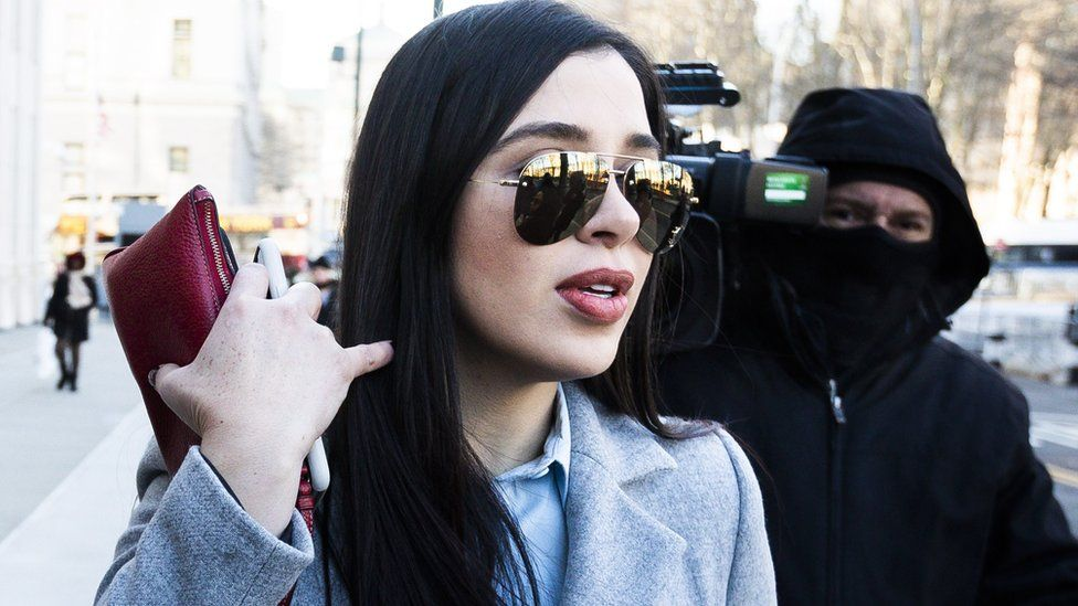 Guzmán's wife Emma Coronel attended the trial in New York