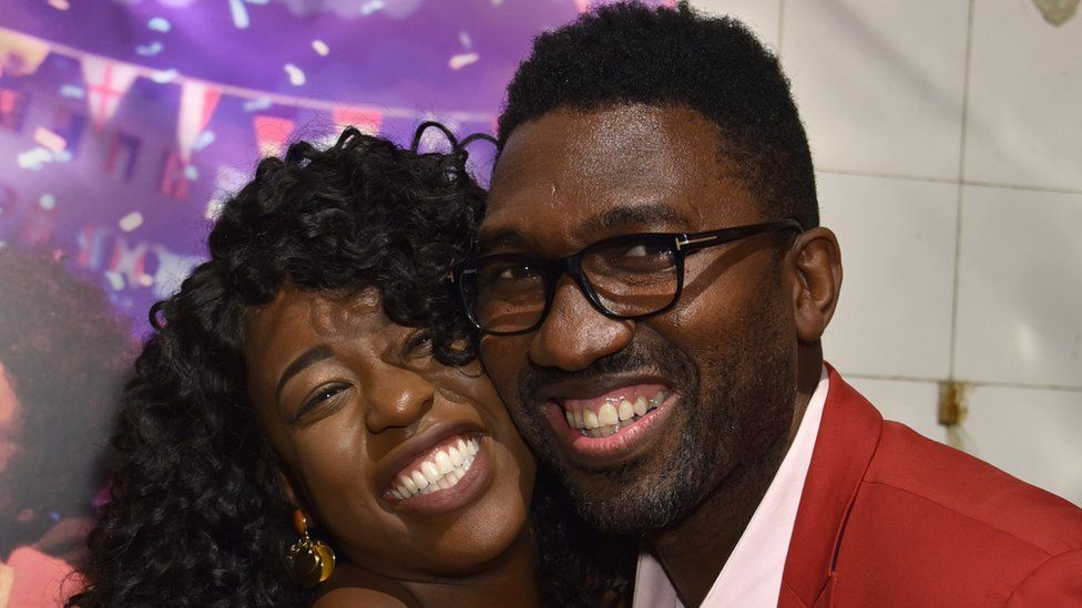Gabrielle Brooks and Kwame Kwei-Armah