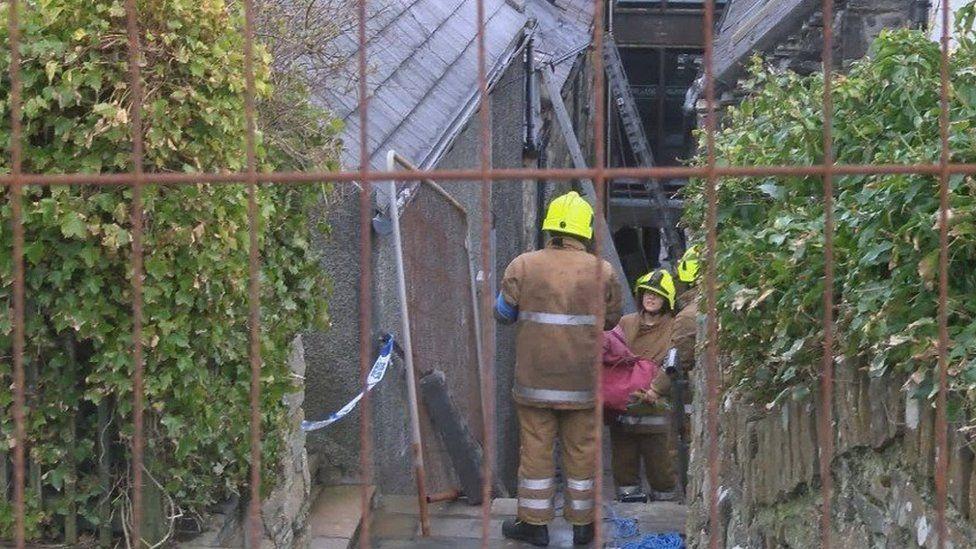 shetland fatal fire