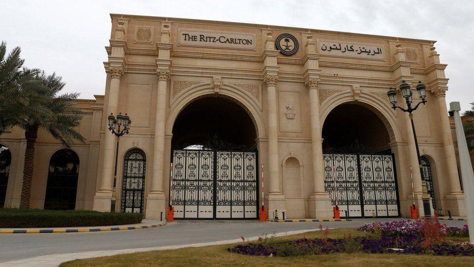 Riyadh's Ritz-Carlton hotel (30 January 2018)