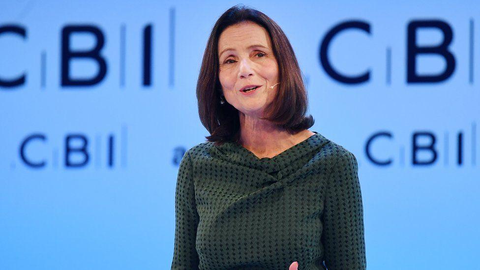 CBI director general Carolyn Fairbairn