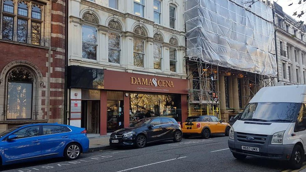 Damascena, based on Temple Row in Birmingham city centre