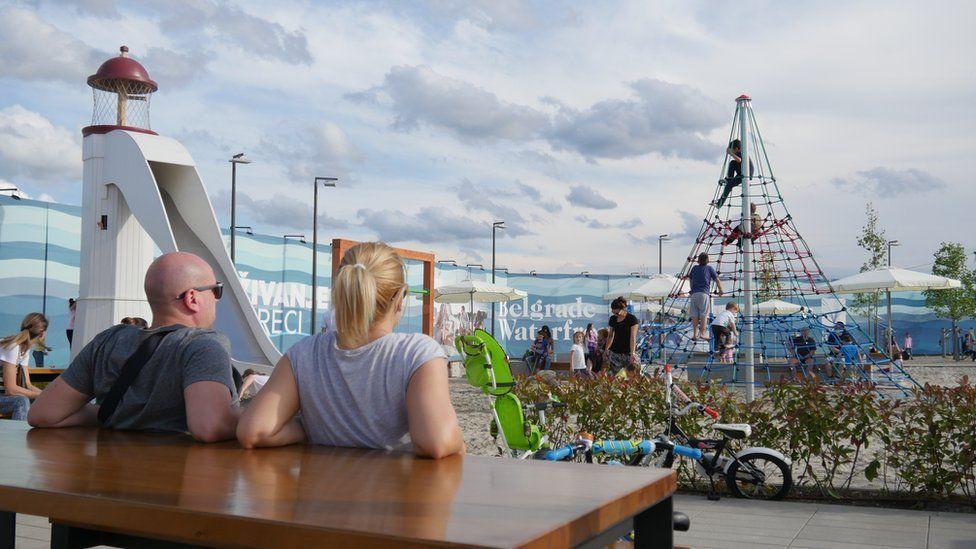 Belgrade Waterfront playground