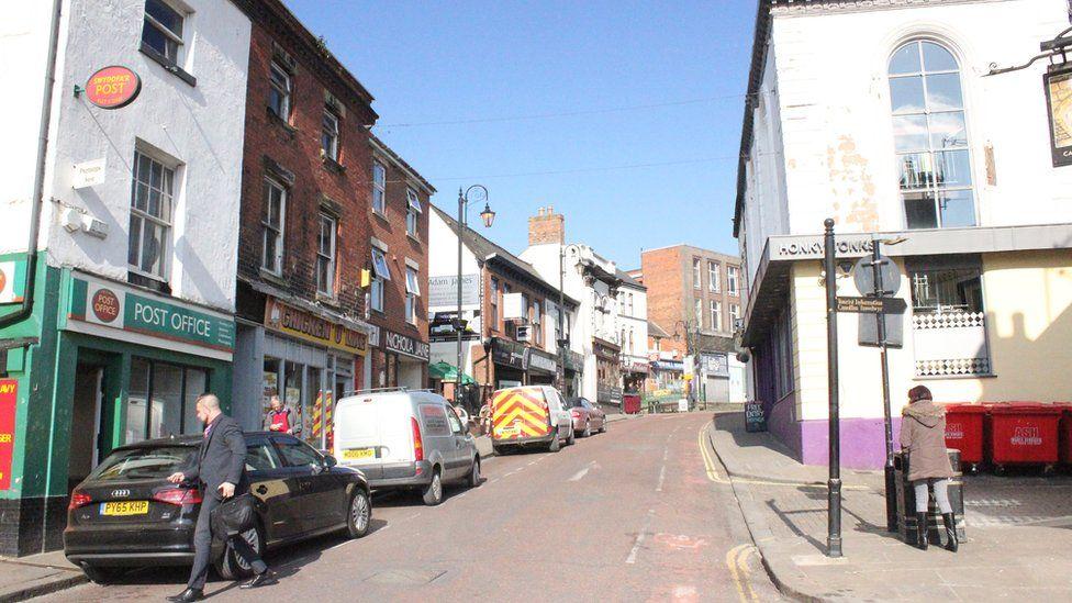 Wrexham Town Hill