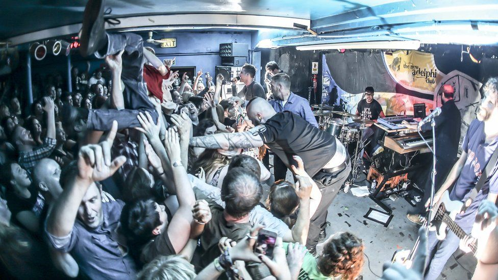 Kaiser Chiefs perform at Hull's New Adelphi Club