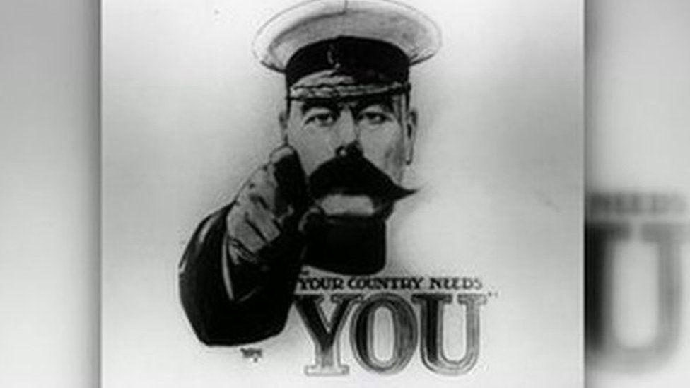 Poster of Lord Kitchener from the First World War