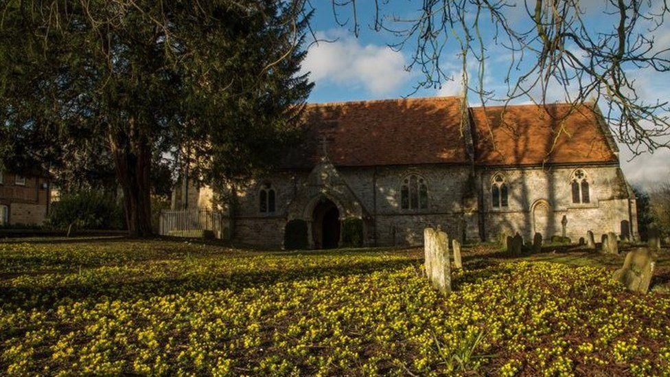 St Peter's Church in Little Wittenham
