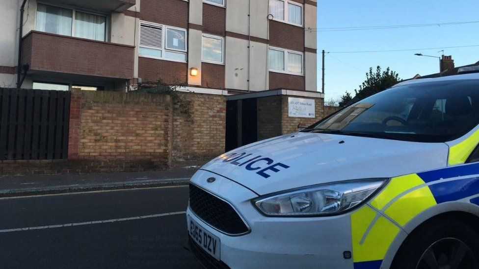 Police in Sutton Road, Southend