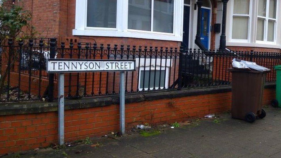 Tennyson Street Radford Nottingham