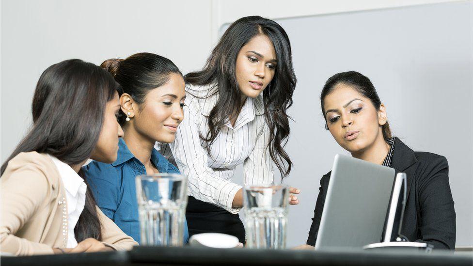 Indian women at work