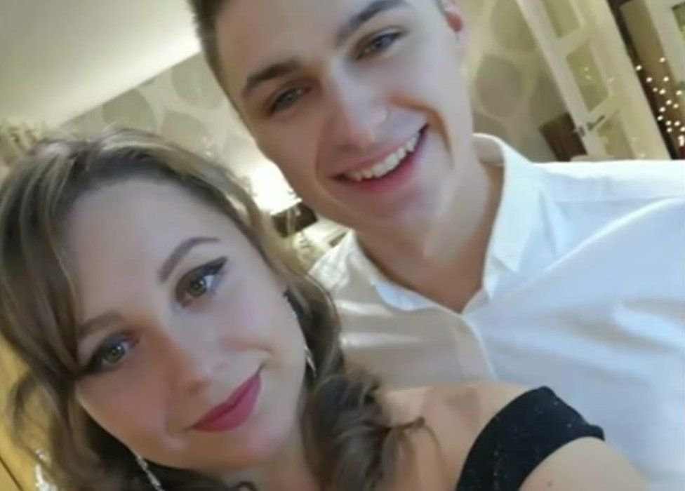 Laura Roberts and her fiance