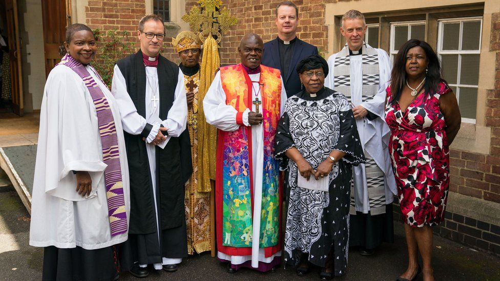 Religious leaders gathered for the memorial service