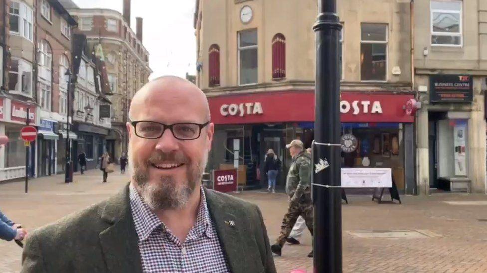 Mark Mullen from Northampton Business Improvement District