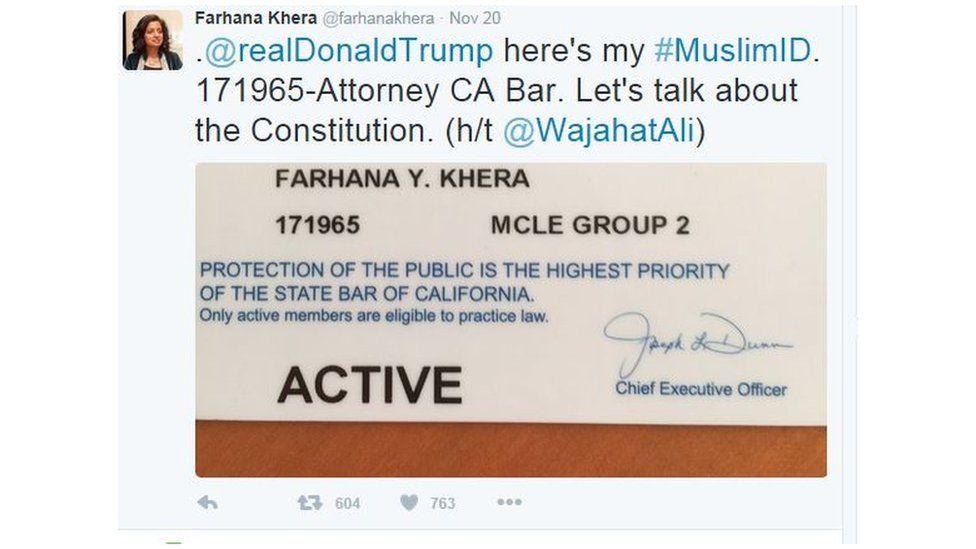 Farhana Tweet