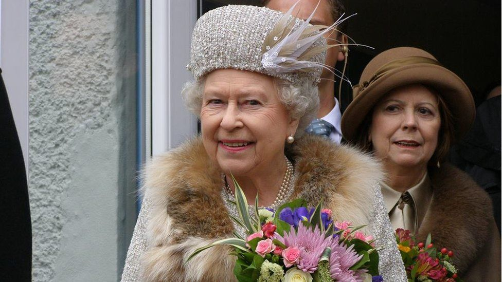 The Queen in Slovakia