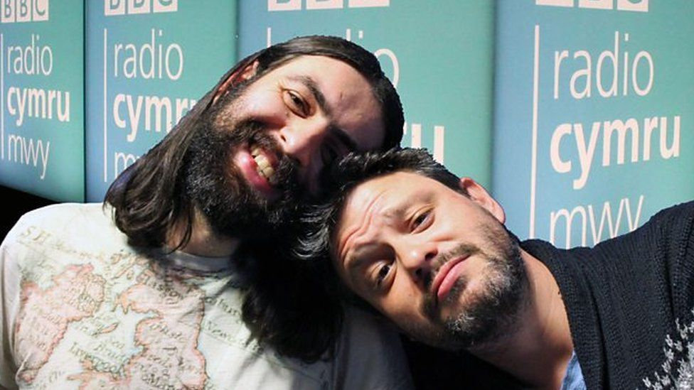 Steffan Alun a Dan Thomas