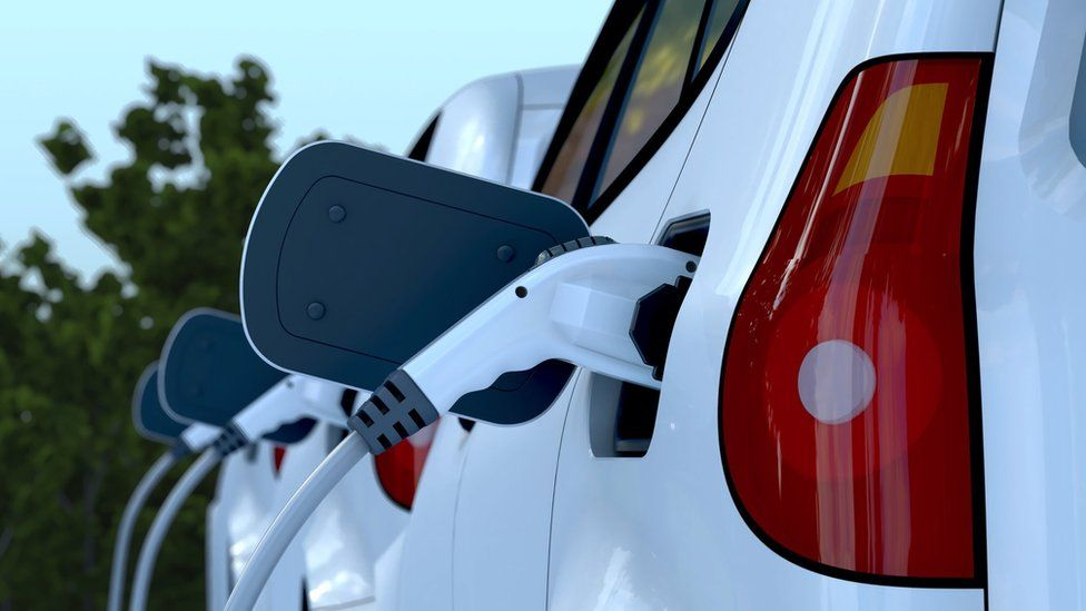 Image of an electric car