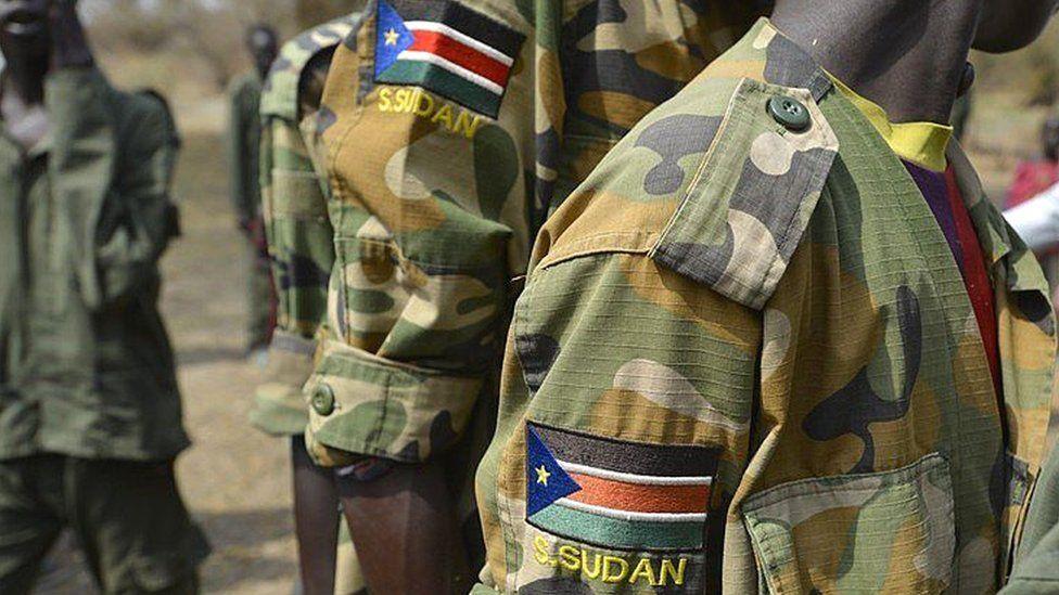 South Sudan soldier uniform