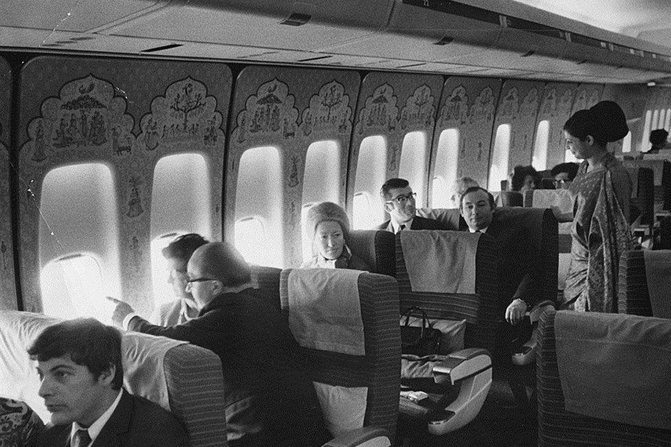 Air India interiors