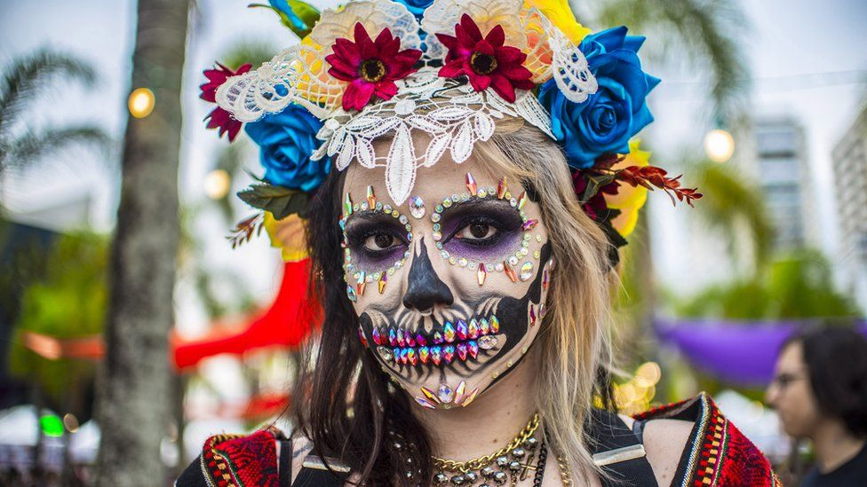 Day of the Dead celebrations in Sao Paulo
