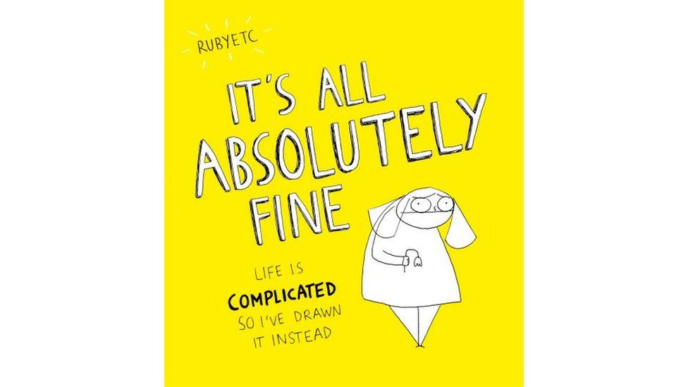 The front cover of It's All Absolutely Fine