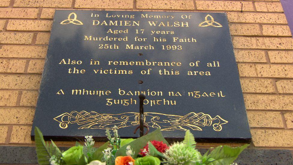 Damien Walsh memorial